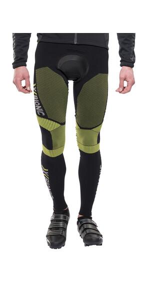 X-Bionic Biking Effektor Power Bib Tight Long Men black/yellow